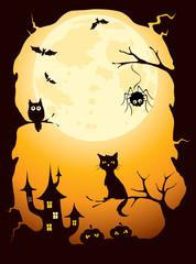 Background -- Halloween card