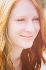 Happy Woman - Closeup Portrait