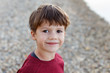 Little boy outdoor portrait