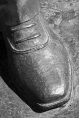 Shoe Of The Statue