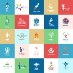Big set of Design color icons