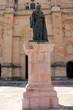 canvas print picture - Skulptur in Antequera