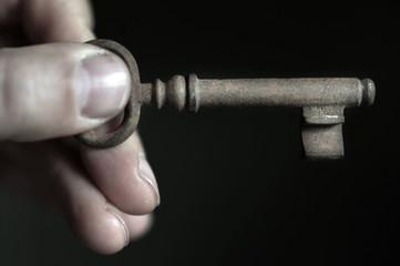 Hand Schlüssel