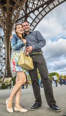 Youg Couple in Paris
