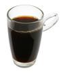 canvas print picture - Kaffeeglas