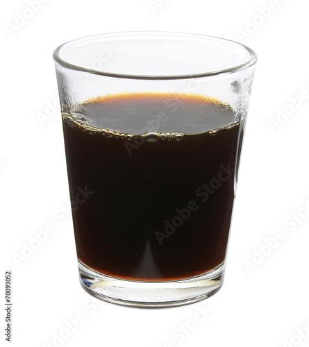 canvas print picture Kaffee im Glas