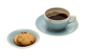 Kaffee mit Keks