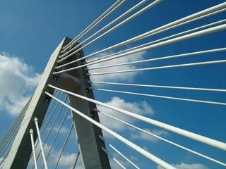 Bridge and blue sky