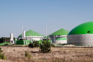 Bio-Erdgasanlage in Schwedt/Oder