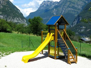 Rural Playground Slide