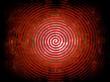 rote Spiralform...