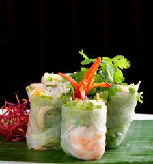 Fresh Spring Rolls, Vietnamese Food