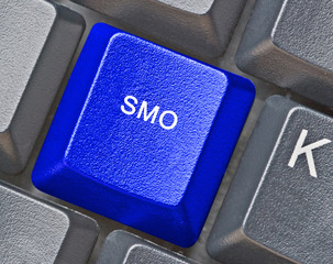 Keyboard with hot key for SMO