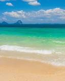 Divine Coastline Serene Waters poster