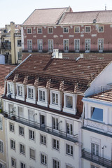 old buildings in Lisbon, Portugal