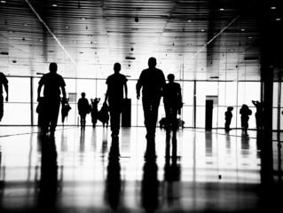 business people pedestrian