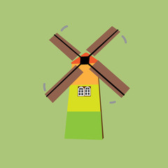 sigle windmill