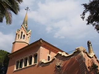 Maison-musée de Gaudi dans le Parc Güell, Barcelone