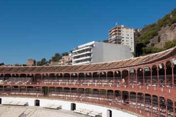 Plaza de Toros - Malaga - Sitzreihen, Stierkampfarena