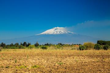 large mountain Etna