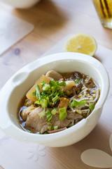 steamed pork noodle