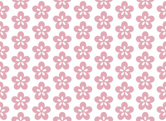 Seamless pattern of Ume