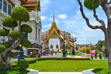 Traditional Thai architecture Grand Palace Bangkok