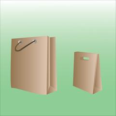 paper bag  stock
