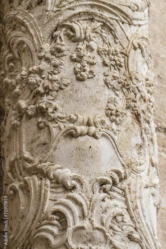 flourishes, ornaments and sculptures of Gothic style, Spanish An © Fernando Cortés