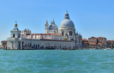 Grand Canal and  Basilica Santa Maria in  Venice