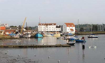 English Town of Woodbridge in Suffolk