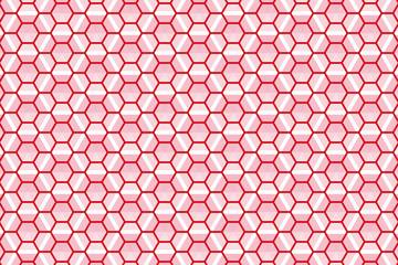 背景素材壁紙(六角の網とリベット)