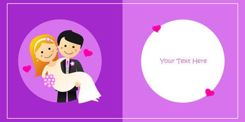 Felicitación de boda XXVI