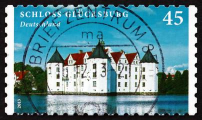 Postage stamp Germany 2013 Glucksburg Castle