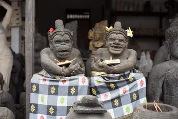 バリ島 / 石像