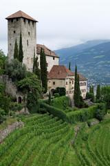 altes Schloss in Südtirol