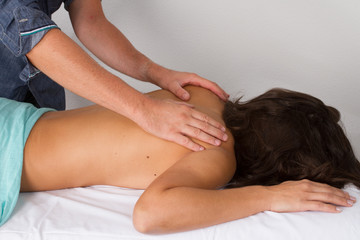 Soin du corps masseur