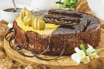 celebratory chocolate cake