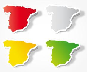 Map of Spain - España mapa