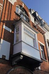 loggia de maison bruxelloise