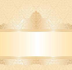 gentle wedding pale peach invitation  background design