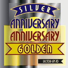 Золотая,серебряная дата