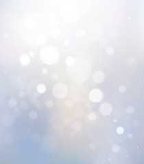 Vector bokeh, lights background.