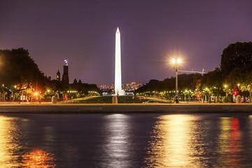The Mall Smithsonian Washington Monument Nigh Washington DC