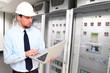 High Tech industrie factory // Industriebetrieb Serverraum
