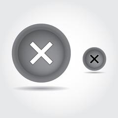 Wrong mark button , remove icon