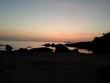 canvas print picture - Abendstimmung in Alghero Sardinien