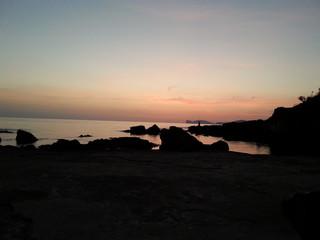 Abendstimmung in Alghero Sardinien