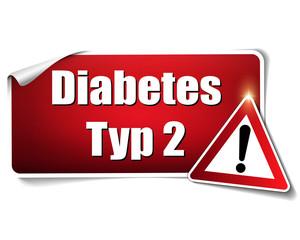 Diabetes Typ 2 Aufkleber