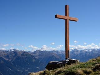 Gipfelkreuz im Montafon